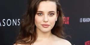 Katherine Langford seen at Netflix '13 Reasons Why' Premiere at Paramount Studios on Thursday, March 30, 2017, in Los Angeles, CA. (Photo by Steve Cohn/Invision for Netflix/AP Images)
