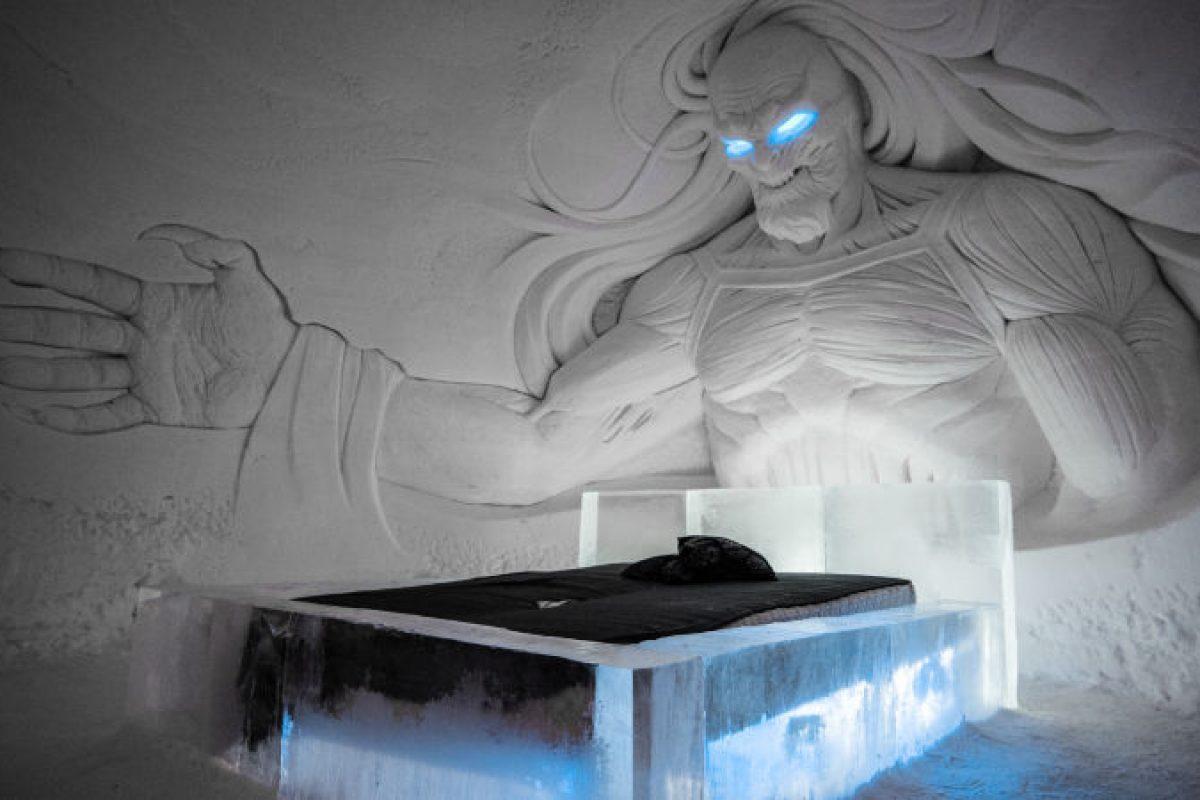 Fanáticos de Game of Thrones, se inaugura hotel de hielo en Finlandia