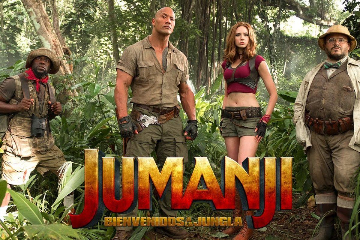 Jumanji; Welcome to the Jungle es la pelicula más taquillera del momento