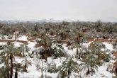 Nevada toma de sorpresa al desierto de Marruecos