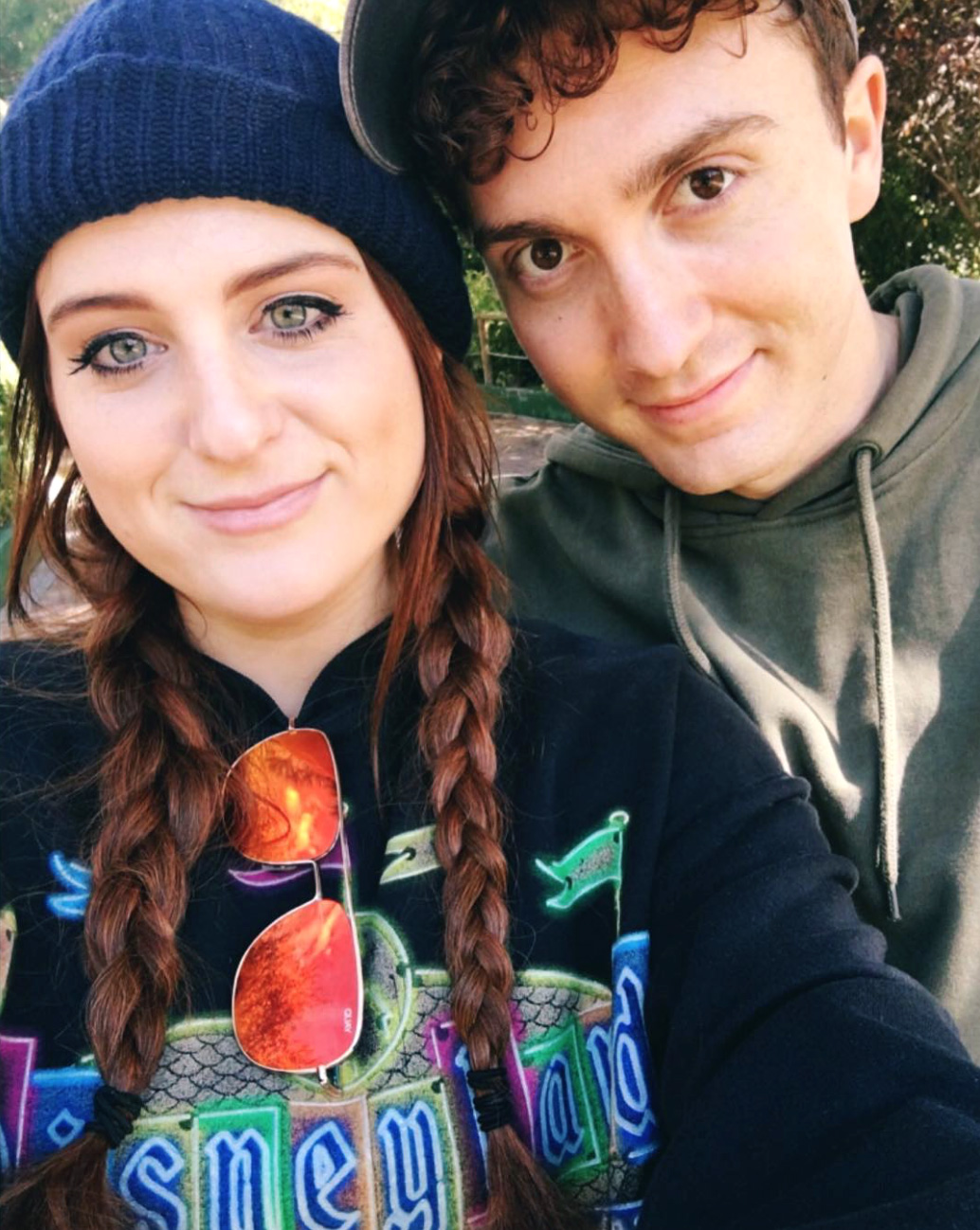 https://www.instagram.com/p/BLi1G71Bqnc/ Screengrab of Meghan Trainor's Instagram post of her and her new boyfriend 10/14/16 Source: Meghan Trainor/Instagram