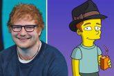 Mirá la primera aparición de Ed Sheeran en Los Simpsons