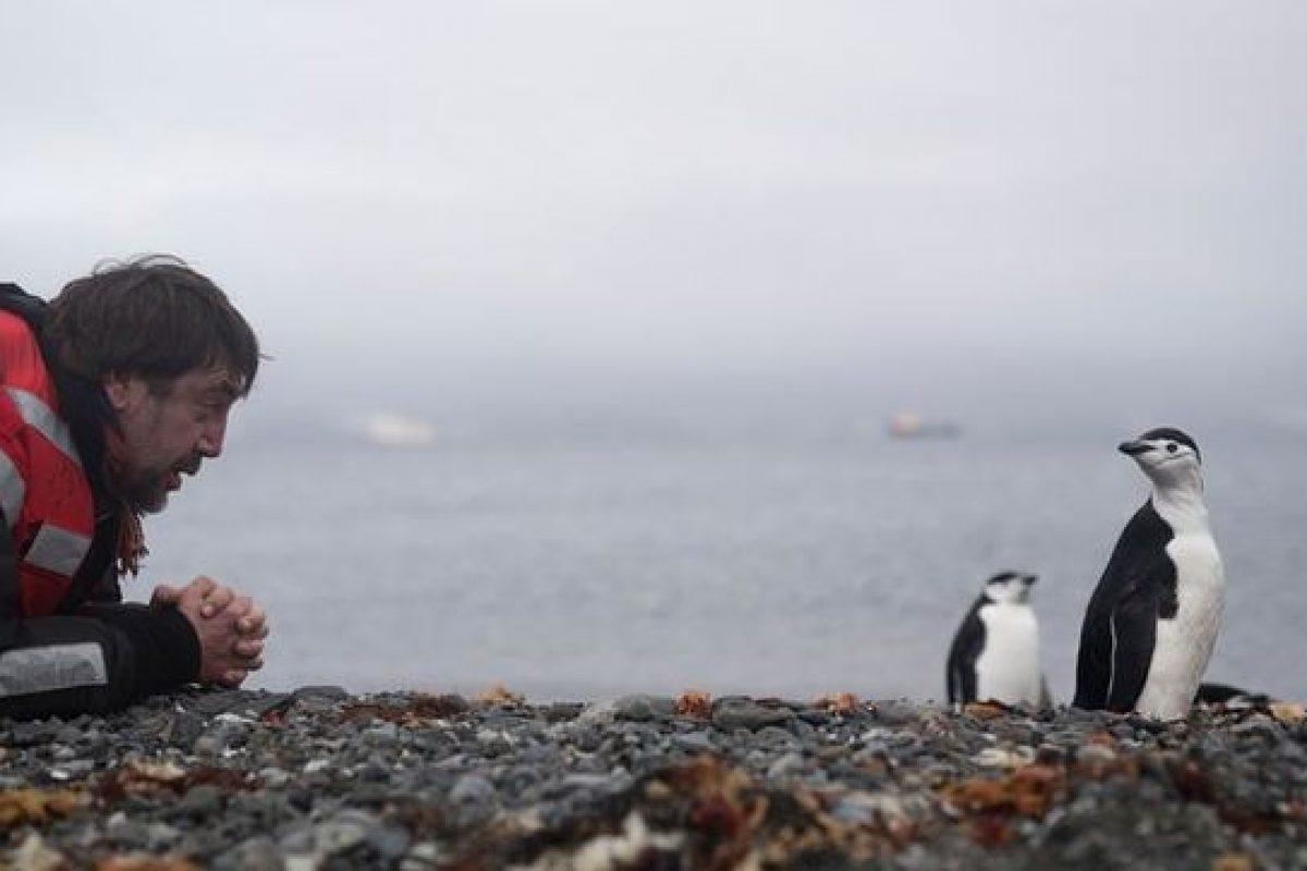 Javier Bardem; La Antártida nos necesita