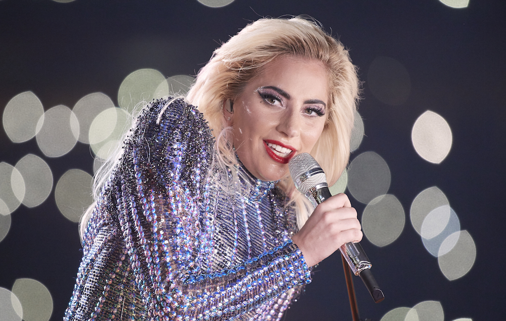 Football: Super Bowl LI: Celebrity singer Lady Gaga performs halftime show during New England Patriots vs Atlanta Falcons game at NRG Stadium. Houston, TX 2/5/2017 CREDIT: Simon Bruty (Photo by Simon Bruty /Sports Illustrated/Getty Images) (Set Number: SI713 TK1 )