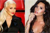 Demi Lovato y Christina Aguilera colaborarán juntas en una canción
