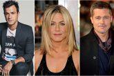 Justin Theroux encontró notas de Brad Pitt durante su relación con Jennifer Aniston