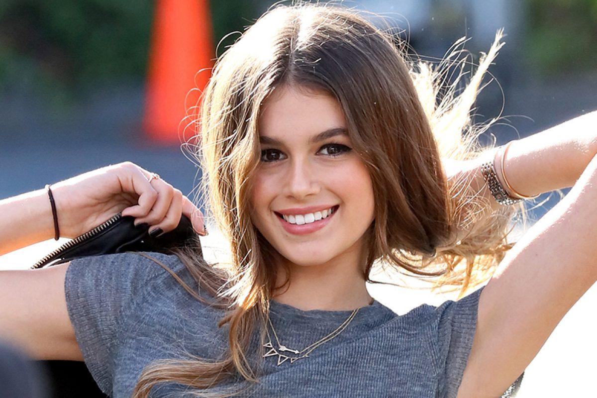 """Kaia Gerber la nueva """" It girl """" de la industria del modelaje"""
