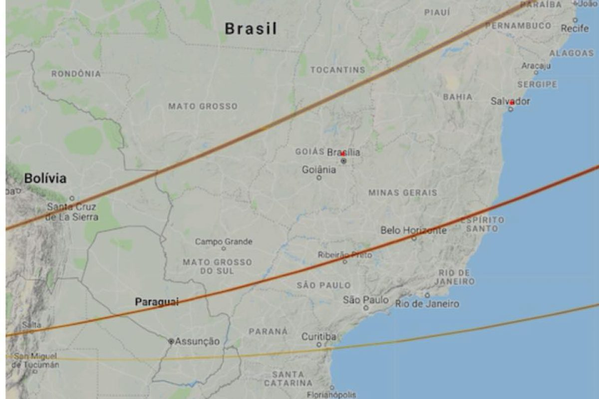 ¿Meteorito en Asunción?