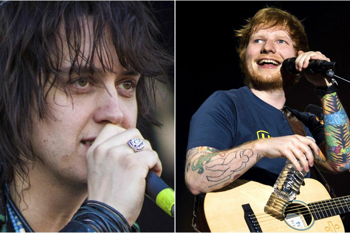 """Julian Casablancas afirma que el éxito de Ed Sheeran se debe a un """"lavado de cerebro cultural"""""""