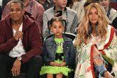 Blue Ivy, la hija de Beyonce y Jay Z, ofreció 19.000 US$ por un cuadro en una subasta