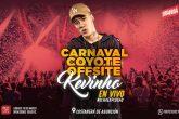 Kevinho en Paraguay en el carnaval Coyote Offsite