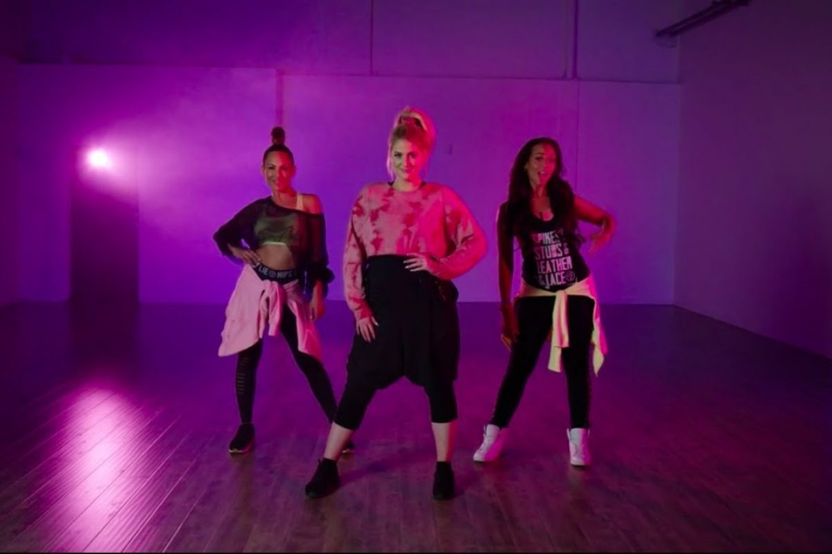 "Meghan Trainor estrenó video de zumba para su nuevo tema ""No excuses"""