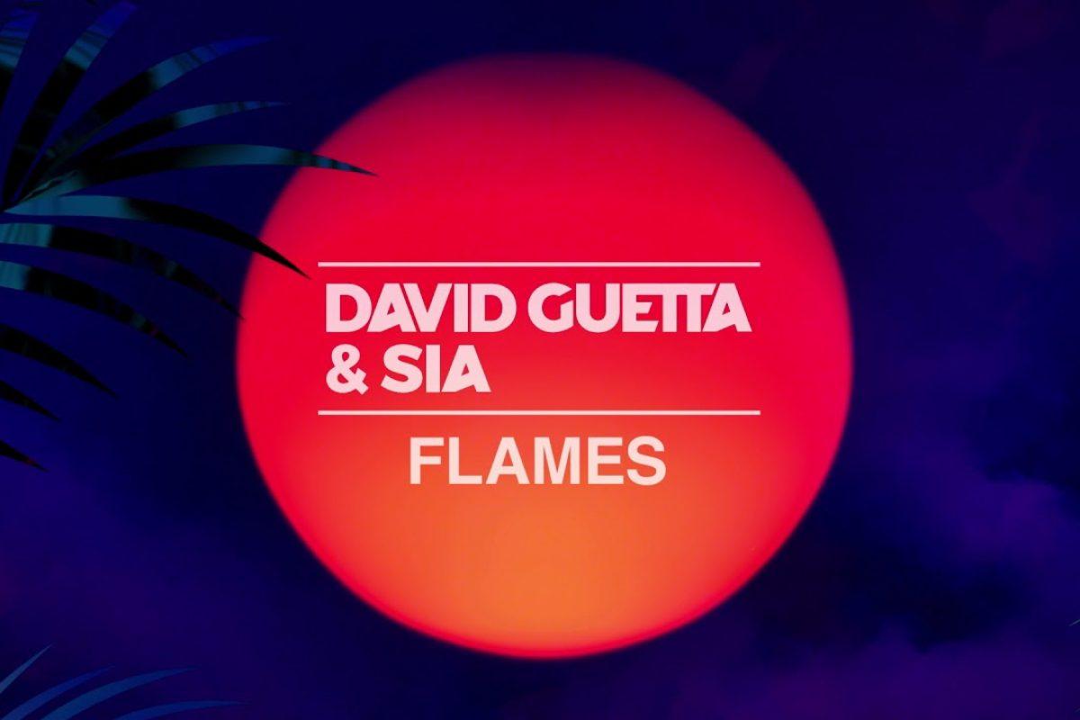 """Escuchá el nuevo tema de David Guetta y Sia, """"Flames"""""""