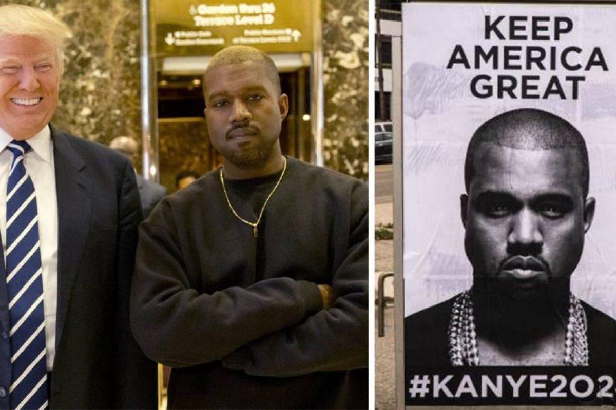Kanye West quiere ser el próximo Presidente de Estados Unidos