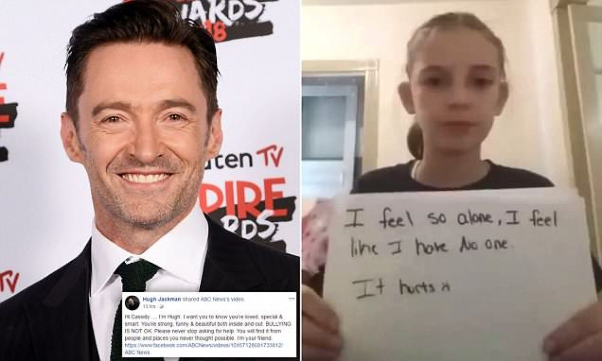 Víctima de bullying grabó un vídeo y recibió una respuesta inesperada