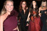 Gwyneth Paltrow festejó su compromiso, rodeada de celebridades