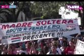 Madres solteras demuestran apoyo a Mario Abdo