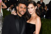 The Weeknd y Bella Hadid muy cariñosos en Coachella