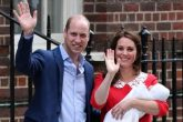 "El Príncipe William y Kate llamaron ""Louis"" a su hijo"