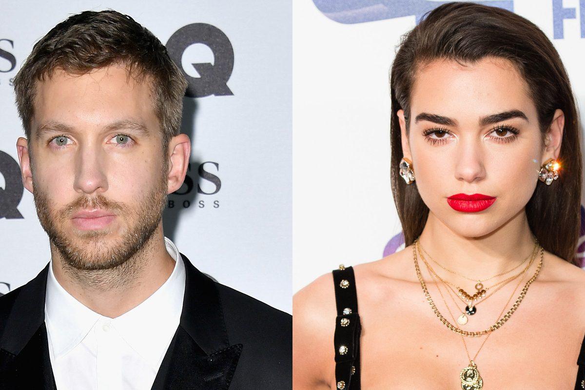 """Escuchá el nuevo tema de Calvin Harris y Dua Lipa: """"One Kiss"""""""