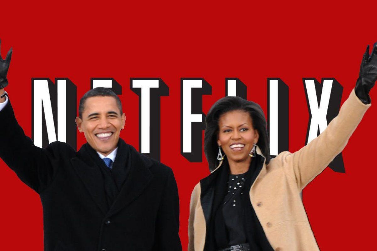 Michelle y Barack Obama crearán contenido para Netflix