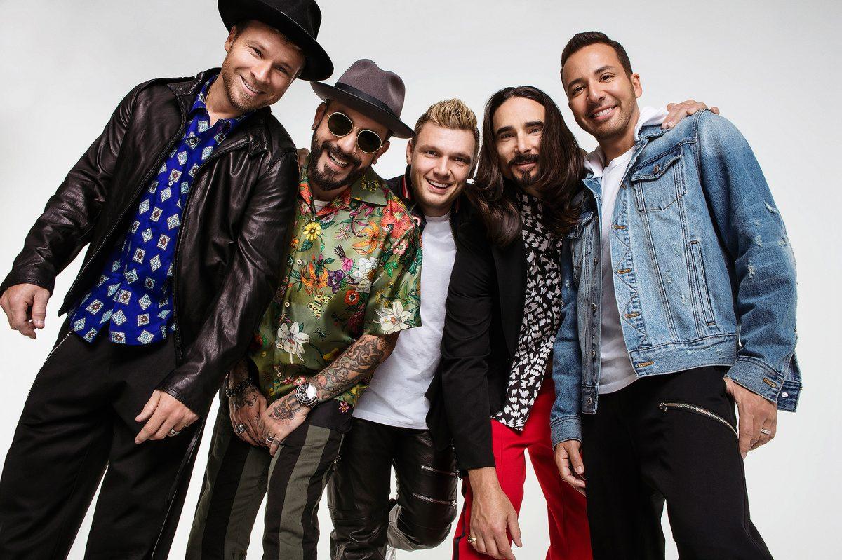 Los Backstreet Boys celebraron 25 años con una nueva canción