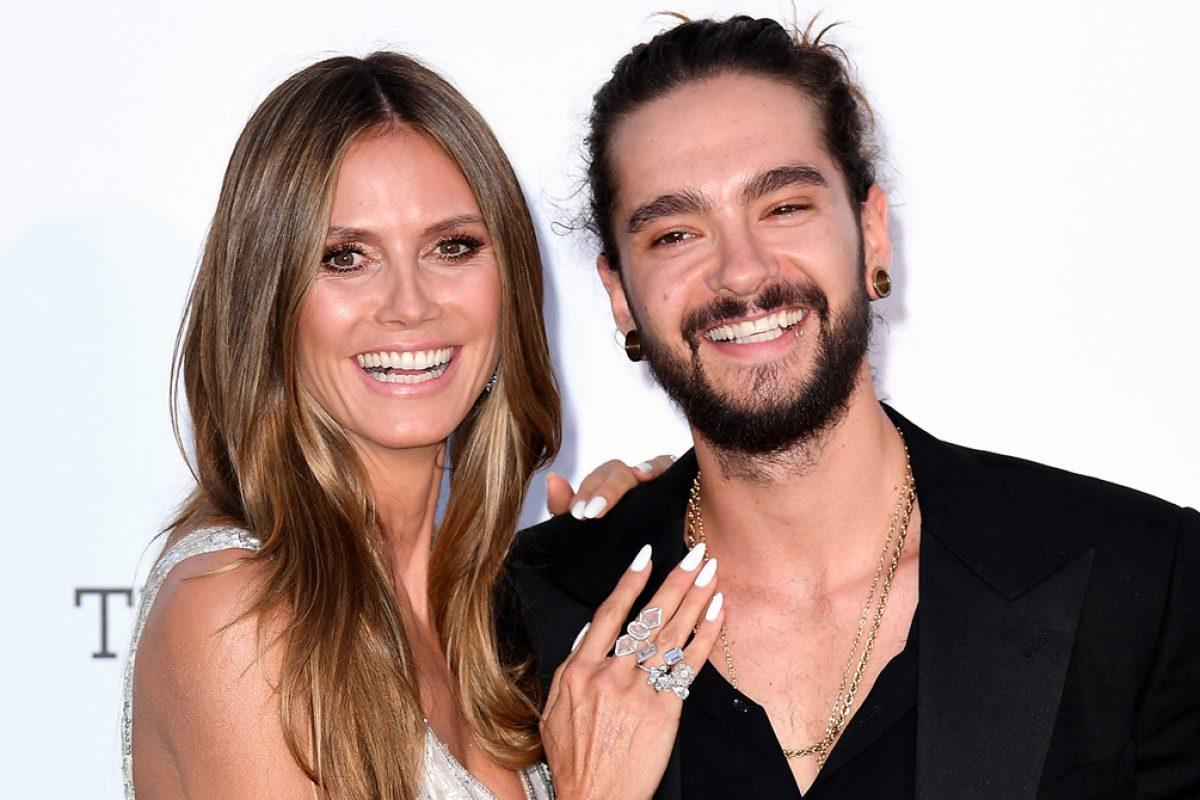 Heidi Klum y Tom Kaulitz se dejaron ver cómo pareja en la alfombra roja
