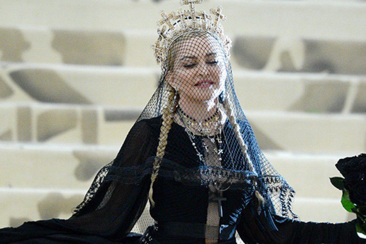 Mirá la presentación de Madonna en el Met Gala 2018