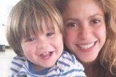 Sasha el hijo menor de Shakira y Piqué demuestra el ADN artístico que heredó de su madre