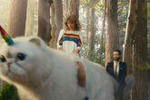 Taylor Swift aparece junto a un gato-unicornio en un nuevo vídeo