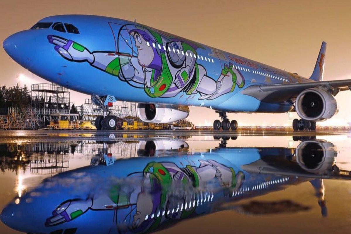 El avión de Toy Story que te llevará al infinito y más allá