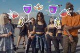 """Camila Cabello lanzó el """"Sangria Wine Challenge"""""""