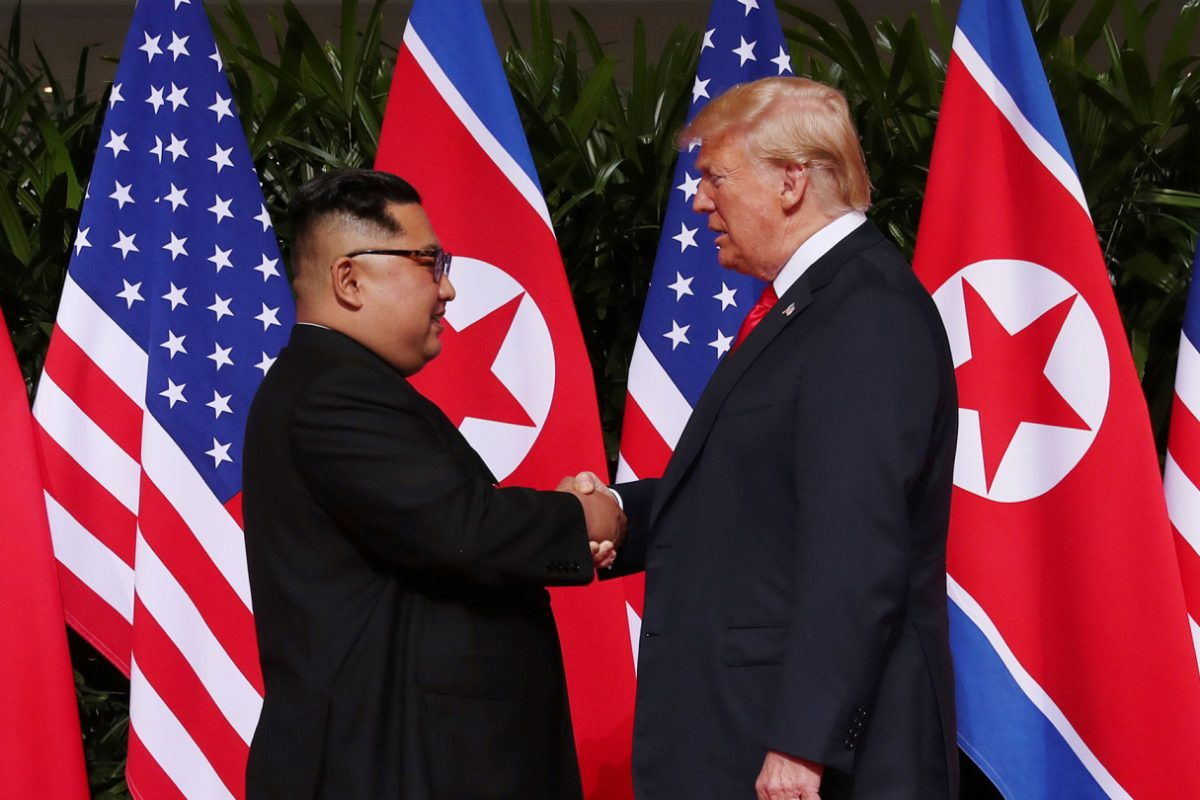 Donald Trump se reunió con Kim Jong-un