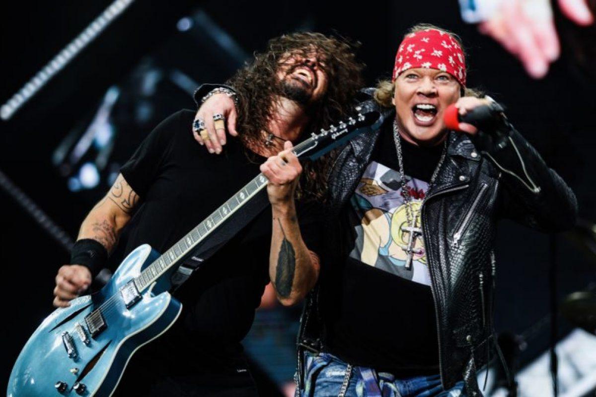 Guns N' Roses y Foo Fighters se unieron para una presentación de ensueño