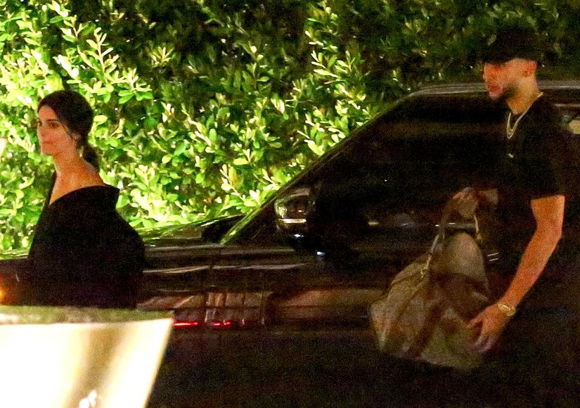 Los Angeles, CA  - *PREMIUM-EXCLUSIVE* First Pix!!! The Super model Kendall Jenner and her new boyfriend Ben Simmons were seen arriving at the Waldorf Astoria Hotel in Beverly Hills at 2:30 AM, to spend the night together. Kendall and Ben were seen leaving The nice Guy nightclub separate and after that they went to Hyde nightclub. They left Hyde around 2:10 AM before they arrive at the hotel to spend the night together. Ben was a gentleman helping Kendall pick up her bag at the car. Pictured: Kendall Jenner, Ben Simmons BACKGRID USA 31 MAY 2018  USA: +1 310 798 9111 / usasales@backgrid.com UK: +44 208 344 2007 / uksales@backgrid.com *UK Clients - Pictures Containing Children Please Pixelate Face Prior To Publication*