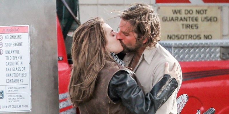 *PREMIUM-EXCLUSIVE* Lady Gaga and Bradley Cooper get romantic for 'A Star is Born' **MUST CALL FOR PRICING**