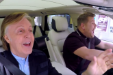 Mirá a Paul McCartney en el Carpool Karaoke junto a James Corden
