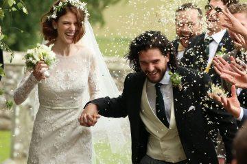 Kit Harington y Rose Leslie se casaron