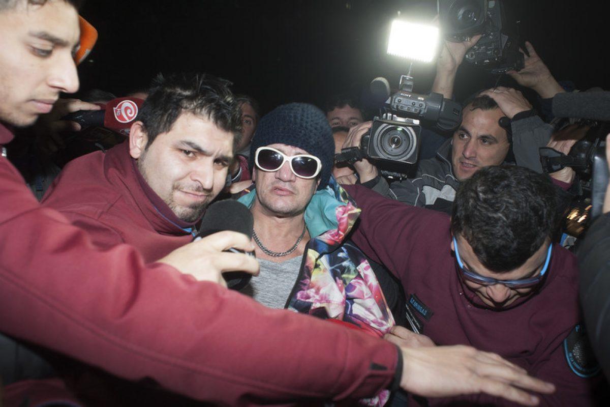 Pity Álvarez se entregó a la policía