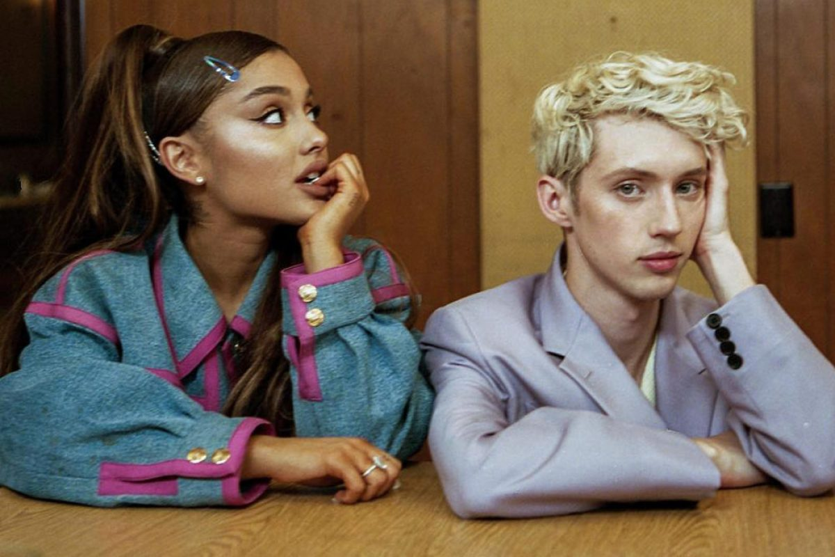 "Ariana Grande y Troye Sivan estrenaron el vídeo de su single ""Dance To This"""