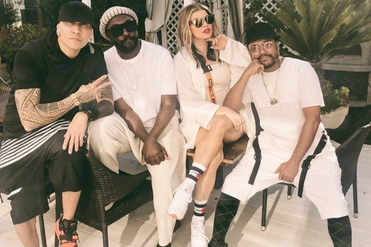 ¡Fergie y The Black Eyed Peas se reunieron después de mucho!