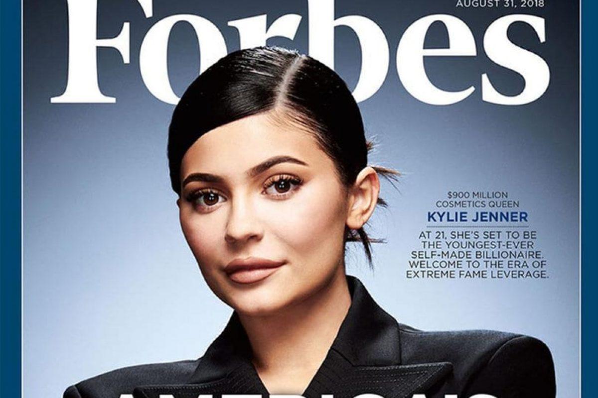 Kylie Jenner es la multimillonaria más joven del mundo según Forbes