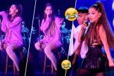 Ariana vuelve a empezar una canción por un fan