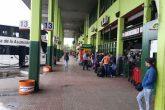 Transportistas toman medida de fuerza en reclamo por inicio de obras en Terminal