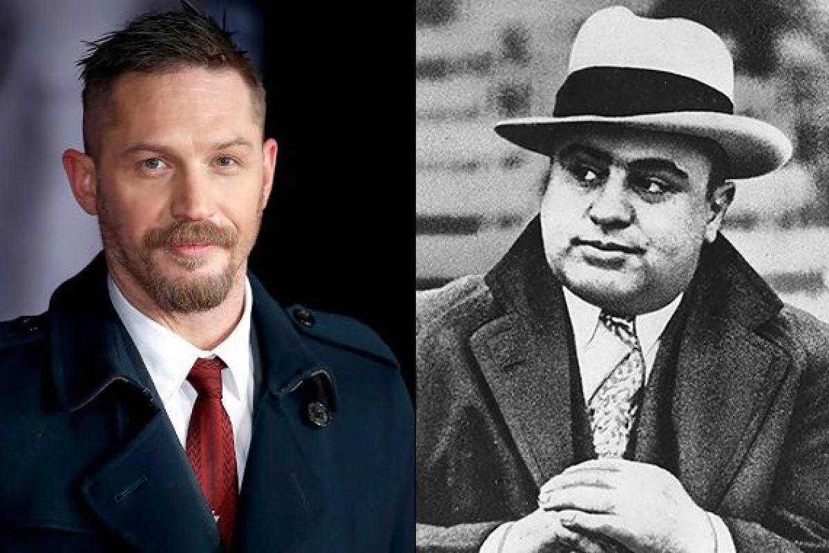 Mirá la increíble transformación de Tom Hardy en Al Capone