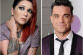 Andrea Valobra inició una campaña para cantar con Robbie Williams