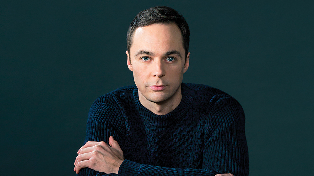 Jim Parsons photographed by Michael Lewis at the PMC photo studio in Los Angeles on November 18, 2016