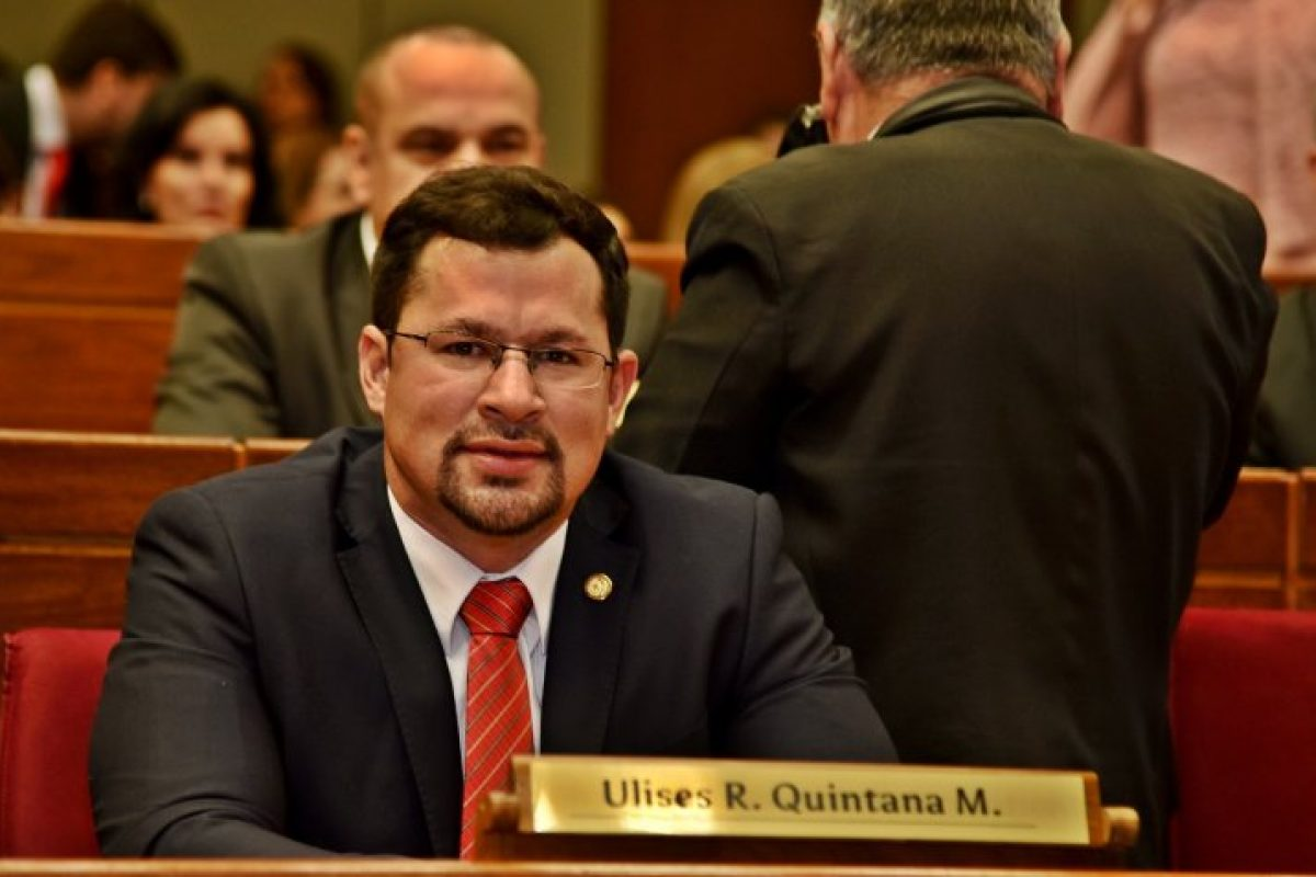 Diputados protegen a Ulises Quintana