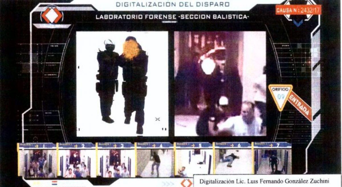 Ministerio Público confirmó que Gustavo Florentín fue quien disparó a Rodrigo Quintana
