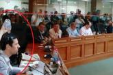 Álvaro Grau explicó la razón por la que Pepa Kovstianovsky le derramó agua en medio de debate